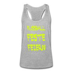 FUSSBALL • FESTE • FEIERN • Sportlich geschnittenes Tank Top für Männer