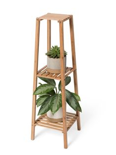 Bamboo 3-Tier Plant