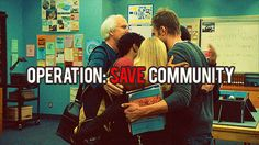 """Save Community!  NBC has """"benched"""" it.  Don't let them cancel one of the best comedies on TV!"""