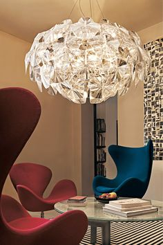 "All Kinds of Lighting -- Modern Chandelier from 1/30/13 blog, ""Pendant-Chandelier Lighting"""