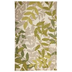 There's something refreshing about walking barefoot on what looks like the forest floor. Maybe it's the serene green and gray ferns on a cream field. Or perhaps the sensation of 100% hand-tufted wool. Either way, this botanical rug nurtures a love of nature.