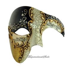 Phantom of the Opera Masquerade Mask for Men and Women - His and Hers Masks Collection ($46) found on Polyvore