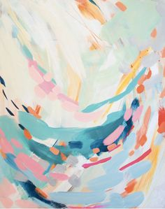 HE AND I by brittany bass on Etsy #abstract #art