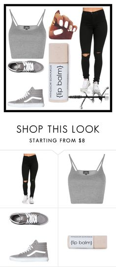 """""""Untitled #10"""" by infinitiblx7 ❤ liked on Polyvore featuring Topshop and Vans"""