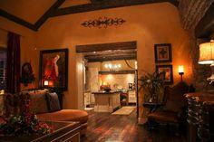 "ME Interiors ""Old World Living room"" design by Melissa Engelke"