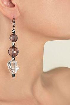 Iris Iris, Drop Earrings, Accessories, Collection, Jewelry, Fashion, Moda, Jewlery, Jewerly