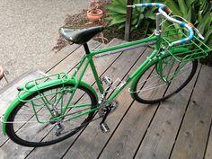 Conda green (porsche color) porteur bike