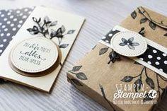Stampin' Up! Idee ♥ neues Stempelset im Frühjahrskatalog ♥ Blütentraum Karten ♥ in der Schachtel voller Liebe ♥ kleine Umschläge aus dem Designerpapier Blütenfantasie ♥ kleines Set zum verschenken