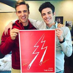 Ever since I started to watch The Flash, I could not think of somebody else as Flash! Grant Gustin is doing a marvelous job!