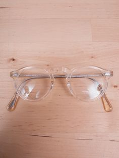 Oliver Peoples - Gregory Peck Buff Eyeglasses — E-G