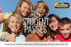 All throughout school and uni holidays! Present your student ID and receive 25% off your track pass at FastLane Karting #discount #studentlife #holidayfun #fastlane