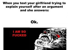 After an argument with girlfriend