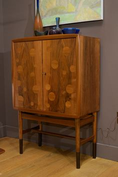 Edvard and Tove Kindt-Larsen - Walnut Bar Cabinet image 2