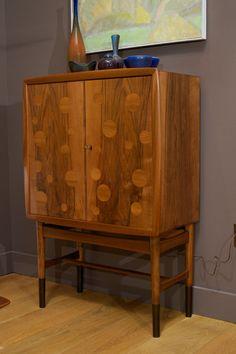 Edvard and Tove Kindt-Larsen - Walnut Bar Cabinet image 2