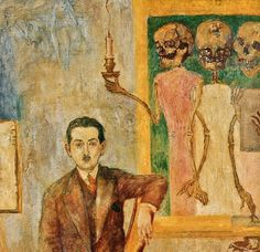 James Ensor - Portrait of Carol Deutsch (1928)