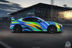 COLORFUL TOYOTA GT86