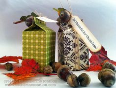 Be Thankful for Chocolate Carton by Catherine Scanlon on the Sizzix blog today, it's super cute!