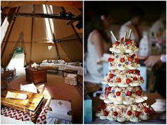 Rachel and Richard's 'Whirlwind Of Smiles and Laughter' Outdoor Tipi Wedding. By Neale James
