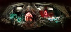 Reactor Control Room by M0nkeyBread on DeviantArt