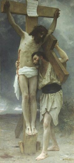 Jesus Christ - Compassion - William-Adolphe Bouguereau 1897 Oil on canvas - Private collection William Adolphe Bouguereau, Catholic Art, Religious Art, Religious Paintings, Roman Catholic, Art Beauté, Sacred Art, Christian Art, Art Gallery