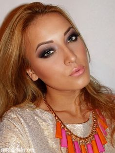 Special Koko - Make-up, beauty & fashion!: NYX Nude on Nude Look #2 : Night Extravaganza (+ Outfit)