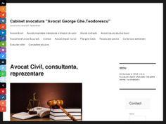 Preview and screenshot of avocatcivil.eu