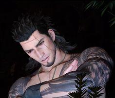 Gladiolus Amicitia | Final Fantasy XV Final Fantasy 15 Gladiolus, Arte Final Fantasy, Guy Drawing, My Heart Is Breaking, Cool Artwork, Finals, Videogames, Gaming, Fandoms