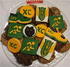 Track & Field, Cross Country Team Cookies