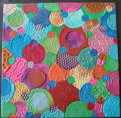Polymer Clay sheet - Textured Bubbles | Flickr - Photo Sharing!