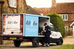 Still und leise wird morgens noch vor sieben Uhr Milch, Obst, Gemüse und vieles mehr ausgeliefert. Perfekt zum Frühstück gibt's dann die frischen Sachen auf den Tisch. Klingt unwahrscheinlich? Der britische Lieferservice Milk