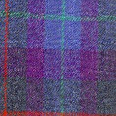 Luxury Handwoven Harris Tweed Cloth Purple & by LoveEllieSolasach