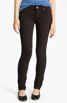 See Thru Soul Skinny Ponte Pants (Juniors) available at #Nordstrom