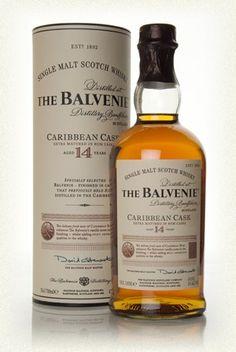 3571bb9b Balvenie 14 Year Old Caribbean Cask Bourbon Whiskey, Scotch Whisky,  Caribbean Rum, Master