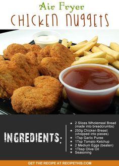 chicken nuggets in airfryer