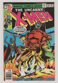 Uncanny X-Men; Vol 1, 116 Bronze Age Comic Book. NM-. December 1978. Marvel…