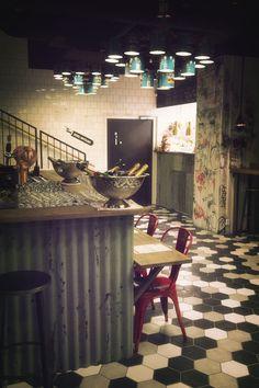 Interior Design for Restaurant Midhill, Helsinki. Photo Anton Sucksdorff