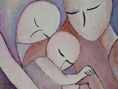 Baby Memory Photo Album The Co sleepers by gioiaalbano on Etsy