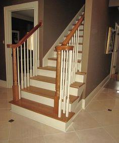 Farmhouse-Style Stairwell