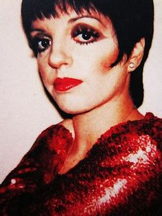 100 Liza Minelli glam late 1970s disco makeup..