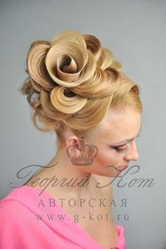 György Kot, a hairstyling master from Russia!