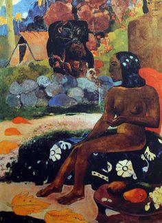 Paul Gauguin - Post Impressionism - Tahiti - Son nom est Vairumati - 1892
