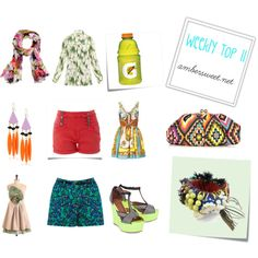Weekly Top 11, created by ambersweetdtnt on Polyvore