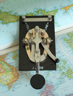 My first Ham Radio contact was made in 1956 using the J-38 WW II Hand Key.  I use a J-38 at WW5XX for my straight key contacts.