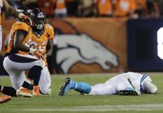 Carolina Panthers quarterback Cam Newton, right, took some vicious hits against the Denver Broncos (AP). Cam Newton's father 'grossly disturbed' by officiating crew Thursday night I agree. Too many nasty hits in that game and refs did not call them.
