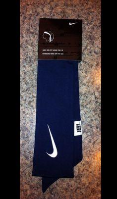 Nike 2.0 Head Tie Headband White Black Red Navy  - Thumbnail 4