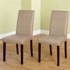 Simple Living Bettega Tan Parsons Dining Chairs (Set of 2)