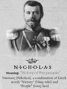 Tsar Nicholas ll of Russia.....Nikolai Alexandrovich Romanov