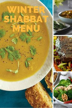 The Ultimate Winter Shabbat Menu. This menu has all the recipes you need for a cozy Shabbat including soup, salad and a main course.