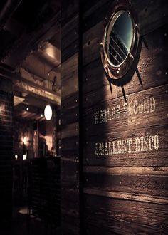 The Mayor of Scaredy Cat Town - speakeasy located in the Breakfast Club dining area, it looks like a SMEG fridge door.