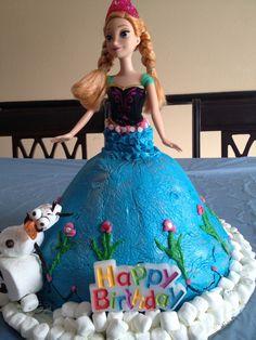 Anna cake frozen